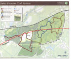 Carter Preserve Trail and Tracks map